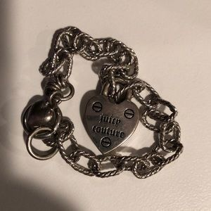 JUICY COUTURE CHARM BRACELET WITH HEART CHARM
